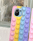 Чехол антистресс Pop it case на Xiaomi Mi11, фото 6