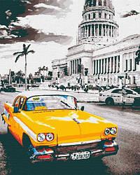 Yellow cab la Havana (40х50) (RB-0154)