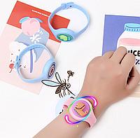 Детский силиконовый антимоскитный браслет для защиты от комаров с натуральным маслом Не светится Видео
