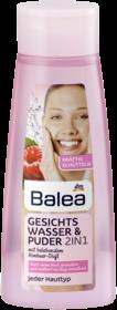 Тонік Відновлення Свіжості для шкіри обличчя, схильної до жирності Balea Gesichtswasser & Puder 2 in 1 200 мл