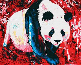 STREET ART. Панда (40х50) (RB-0055)