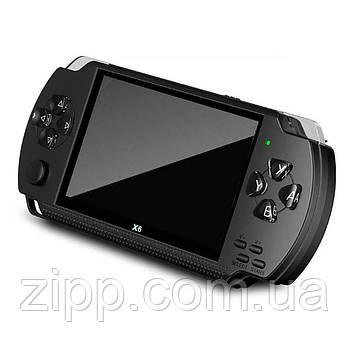 Игровая портативная консоль PSP X6 4,3 дюйма   Портативная игровая приставка   Игровая консоль приставка