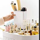 Прозорий органайзер для косметики 4 ящика   Підставка для косметики   Органайзер для косметики настільний, фото 8
