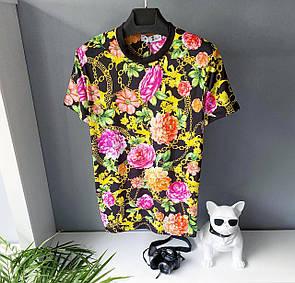 Чоловіча футболка,Квітковий принт
