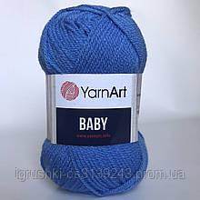 Акрил YarnArt Baby (беби) 600 Джинс