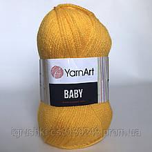 Акрил YarnArt Baby (беби) 32 Желток