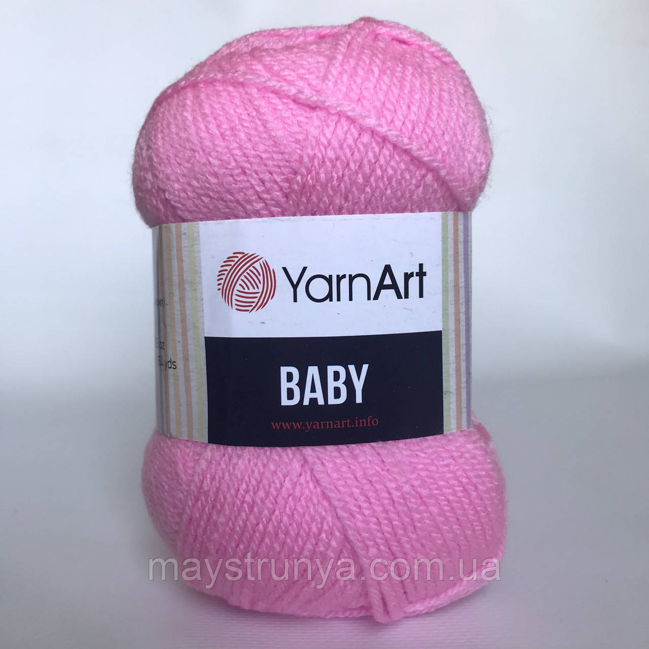 Акрил YarnArt Baby (бебі) 10119 Рожевий