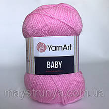 Акрил YarnArt Baby (беби) 10119 Розовый