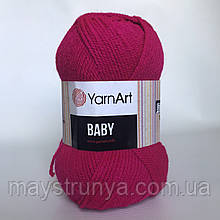 Акрил YarnArt Baby (беби) 8041 Малина