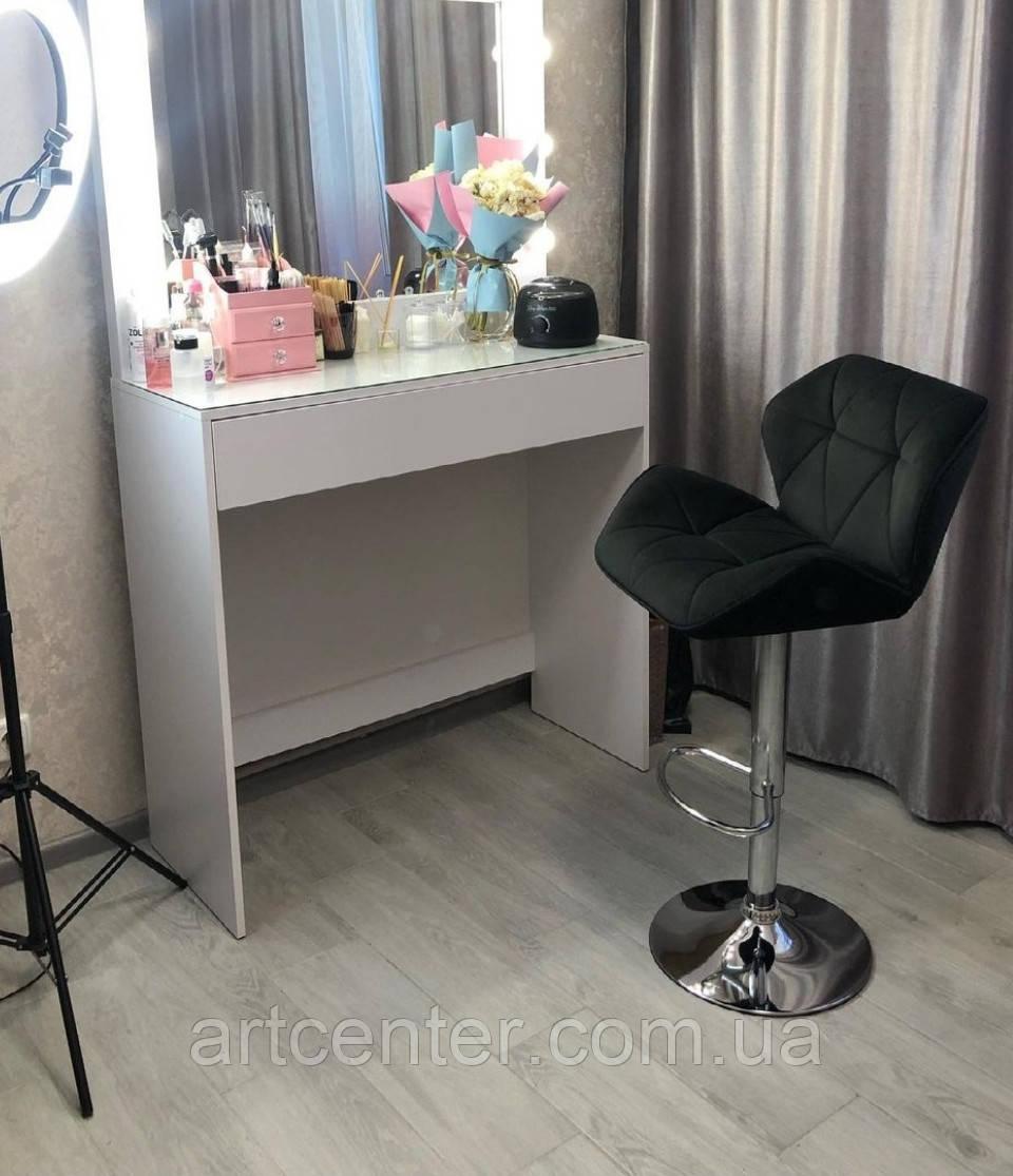 Кресло для визажиста, барное кресло Martin, велюр