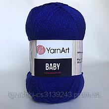 Акрил YarnArt Baby (беби) 979 Ярко-синий