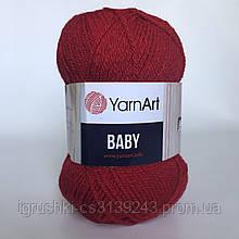 Акрил YarnArt Baby (беби) 576 Красный