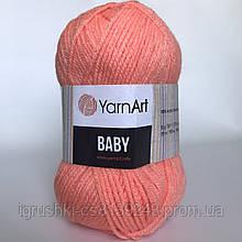 Акрил YarnArt Baby (беби) 622 Абрикос