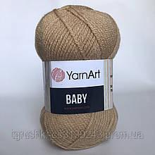 Акрил YarnArt Baby (беби) 805 Светлый беж