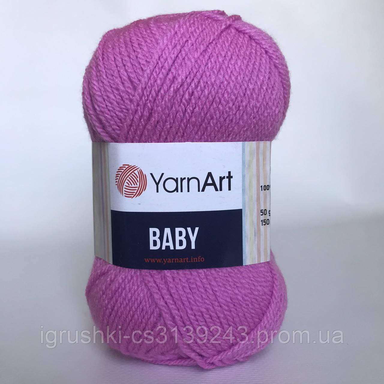 Акрил YarnArt Baby (бебі) 635 Троянда