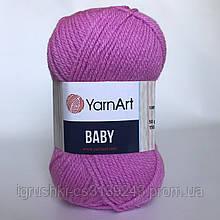 Акрил YarnArt Baby (беби) 635 Роза