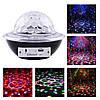 Музыкальный диско шар Ufo crystal magic ball Черный, светомузыкальный led шар с блютузом и пультом (NV)