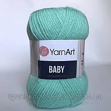 Акрил YarnArt Baby (беби) 623 Мята
