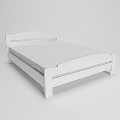 Ліжко дерев'яне двоспальне Гавана (масив ясеня)