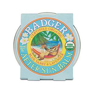 Badger After Sun Balm-бальзам після засмаги з блакитний пижмою і лавандою 56 гр