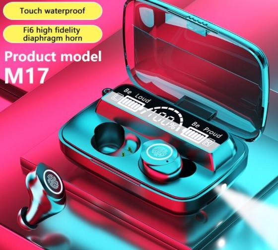 Беспроводные наушники M17 HD Stereo Heavy Bass TWS Bluetooth сенсорные блютуз наушники