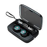 Беспроводные наушники M17 HD Stereo Heavy Bass TWS Bluetooth сенсорные блютуз наушники, фото 2