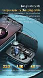 Беспроводные наушники M17 HD Stereo Heavy Bass TWS Bluetooth сенсорные блютуз наушники, фото 5