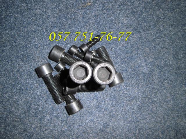 Винт М10 DIN 912, с шестигранным углублением под ключ, ГОСТ 11738-84, класс прочности 12.9   Фотографии принадлежат предприятию Крепсила