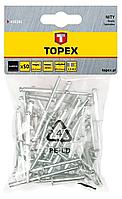 Заклепка алюмінієва 4.0*8мм 50шт TOPEX 43E401