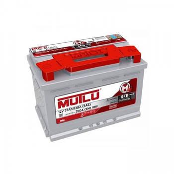 Акумулятор MUTLU 78-0 (R+) (830A)