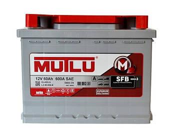 БЕЗКОШТОВНА ДОСТАВКА! Акумулятор MUTLU 60-0 (R+) (650A)