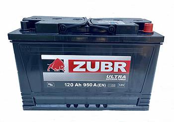Акумулятор ZUBR Ultra 120-0 (R+) (950А) AGRO + БЕЗКОШТОВНА ДОСТАВКА