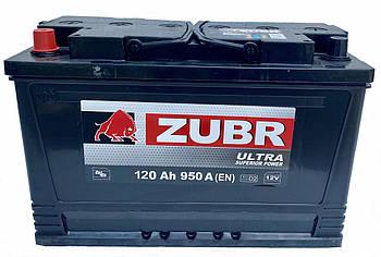 Акумулятор ZUBR Ultra 120-1 (L+) (950А) AGRO + БЕЗКОШТОВНА ДОСТАВКА