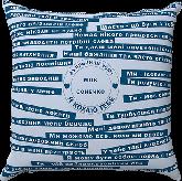 Подушка с принтом 30х30см