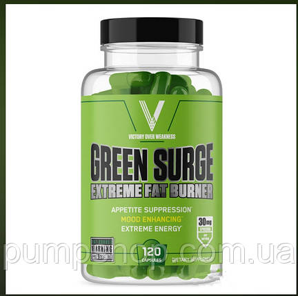 Жиросжигатель на эфедрине Green Surge Fat-Burner 120 капс. (США), фото 2