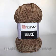 Плюшева пряжа YarnArt Dolce 765 (ЯрнАрт Дольче) Ірис