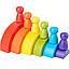Пирамидка «Rainbow»,  (яркая), фото 3