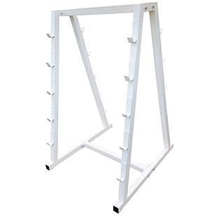 Напольная стойка подставка для блинов, грифов и штанг 120х60 см