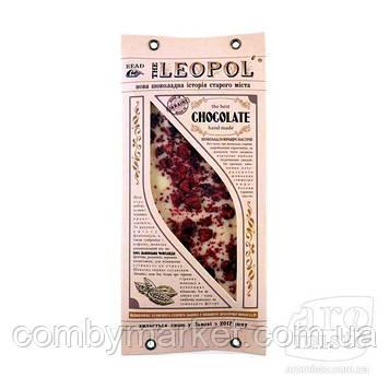 """Шоколад білий """"Leopol"""" з вишнею 95g"""