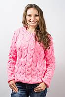 Кофта женская Лало розовый р.46-50 AL113