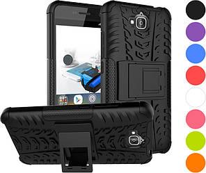 Защитный чехол Huawei Y6 Pro (бронированный бампер) (Хуавей У6 Про)