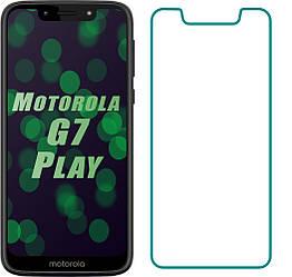 Защитное стекло Motorola Moto G7 Play (Прозрачное 2.5 D 9H) (Моторола Мото Джи 7 Плей)