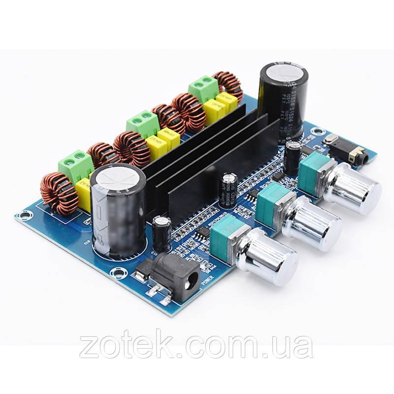 Bluetooth v5.0 XH-A305 TPA3116D2 50Вт*2+100Вт 2.1 усилитель звука DC 12-24В