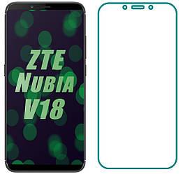 Защитное стекло ZTE Nubia V18 (Прозрачное 2.5 D 9H) (Зте Нубия В18)