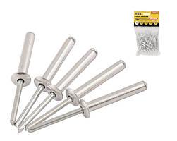 Заклепка алюмінієва 4.8*12.7 мм 50шт Mastertool 20-0650