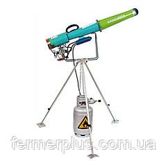Пропановая пушка механическая на треноге для отпугивания диких животных и птиц