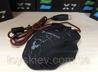 Мышка игровая проводная USB X-15/ X-12 (100)