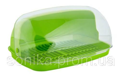 Хлібниця пластикова Алеана 32х25х17см 169049