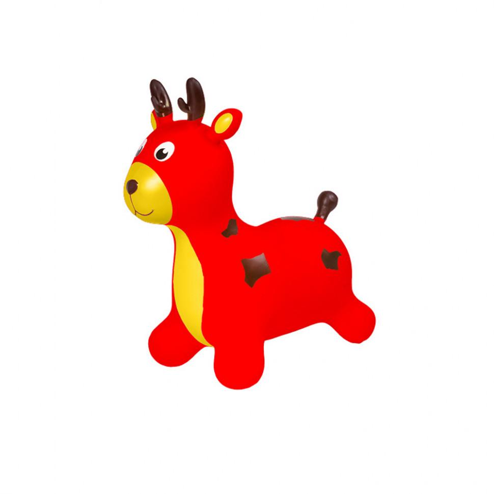 Дитячий стрибун Олень BT-RJ-0071 гумовий (Red)