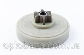 Корзина пластмассовая  (внутренние 56 зубов) для электропил Partner, Husqvarna, фото 3